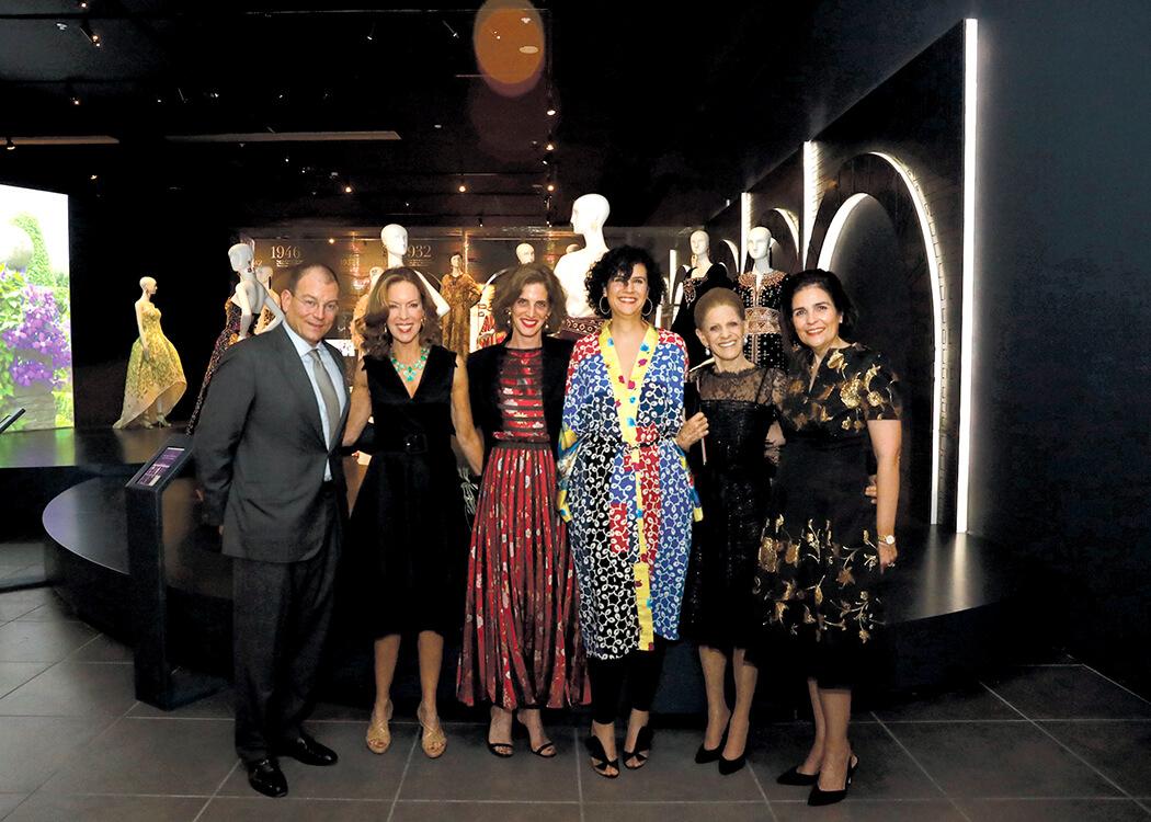 Alex Bolen, Dominique Bluhdorn, Eliza Bolen, Amelia Vicini, Annette de la Renta and María Amalia León de Jorge