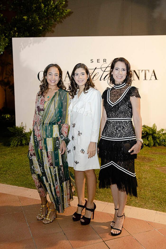Anaida Brugal, Lorena Cabrera y Belinda Brugal
