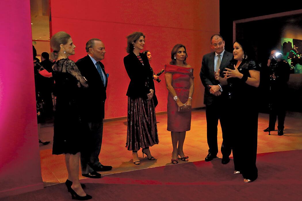 Annette de la Renta, Frank Rainieri, Eliza Bolen, Haydée Kuret de Rainieri, Alex Bolen and Sara Hermann