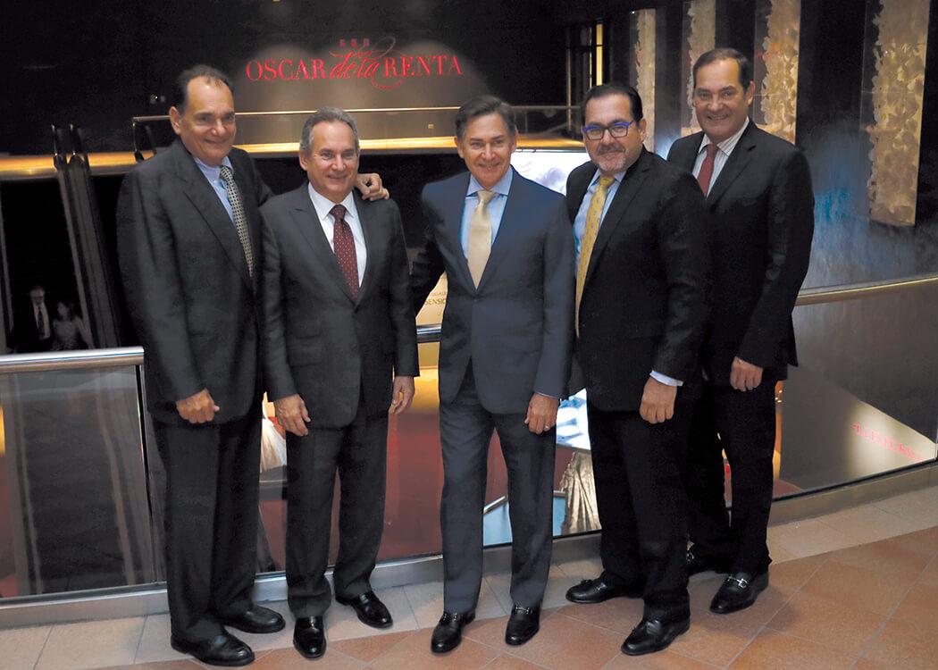 Eduardo León Herbert, Franklin León Herbert, Fernando Arturo León, Luis Manuel León and Guillermo León