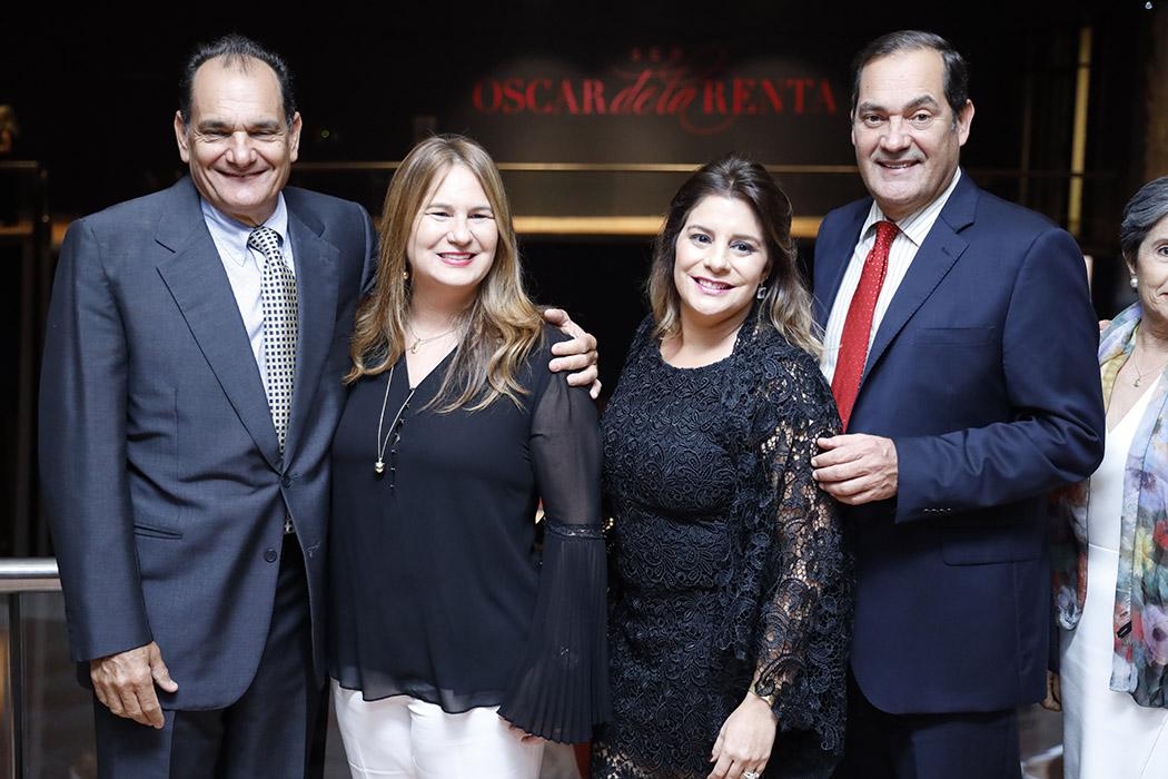 Eduardo León Herbert, Karina Martínez, Michelle Franco de León and Guillermo León