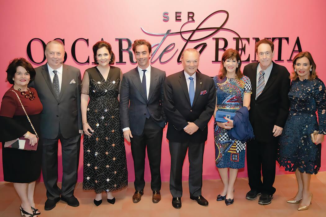 Gloria et Eduardo Selman, María Amalia León, Fernando García, Frank Rainieri, Robin et Richard Bernstein et Haydée R.