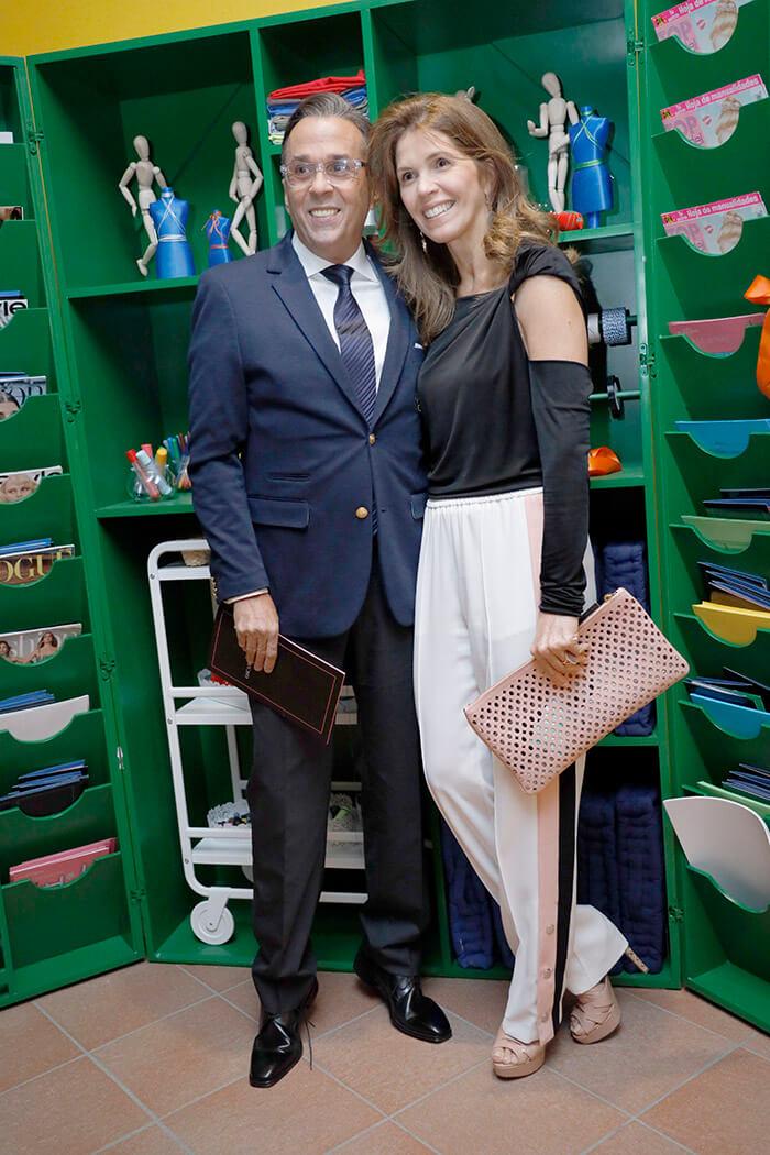 Guillermo Cordero and Stella León