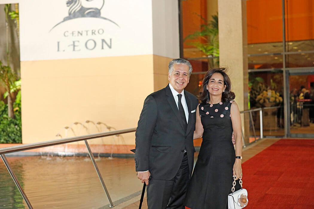 Jaime Núez e Ivette Brugal de Núez