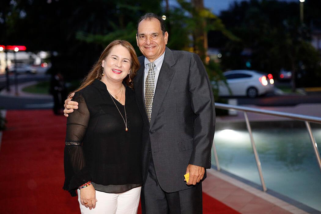 Karina Martínez and Eduardo León Herbert
