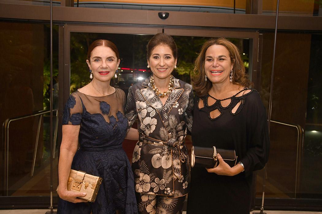 Lisette Trepaud, Liza Bonetti de Vicini and Rosanna Rivera