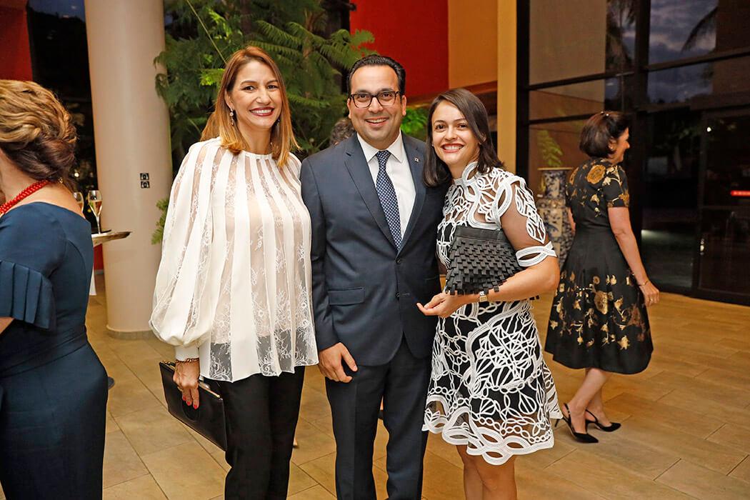 María Elena Aguayo, Jorge Jana and María Jesús Fernández de Schad
