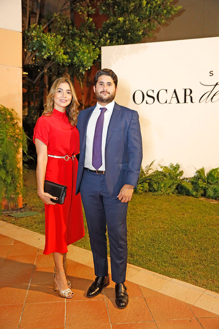 Mariana Friedman y Carlos León Bisonó
