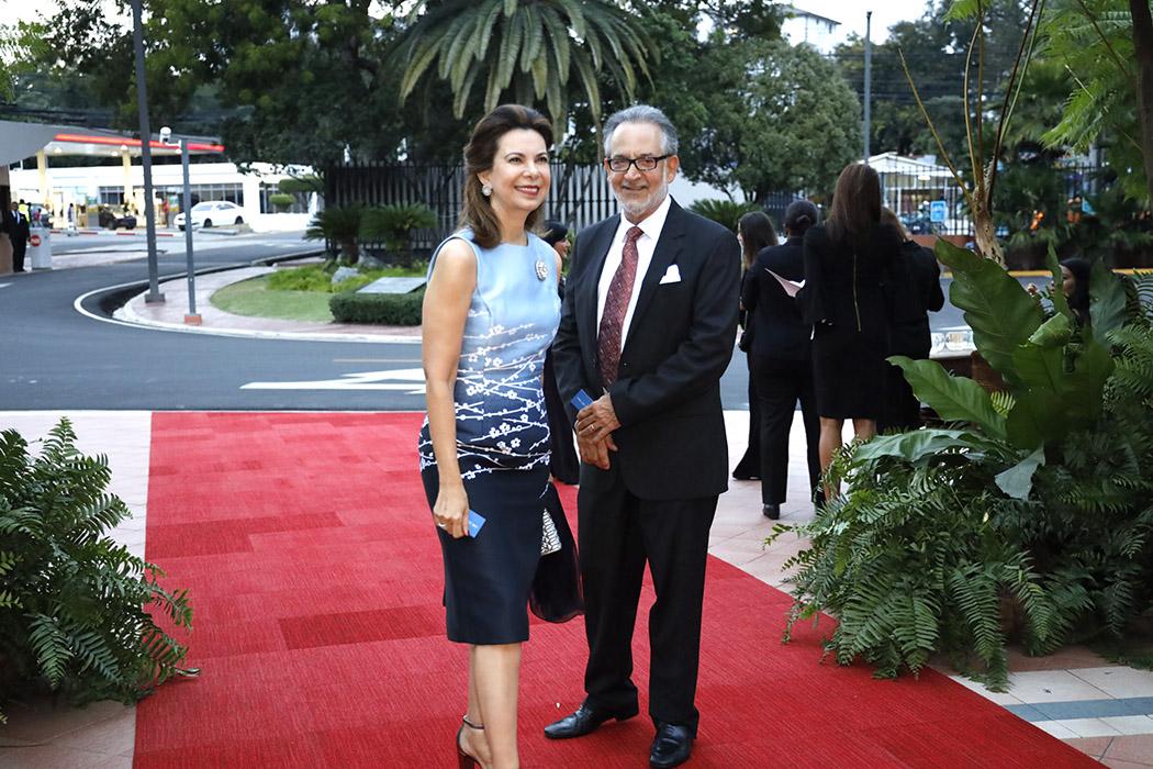Soraya Checo de Alvarez and Carlos Manuel Alvarez